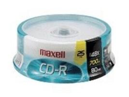 Maxell MAXELL RECORDABLE CD, 648445, 41048797, CD Media