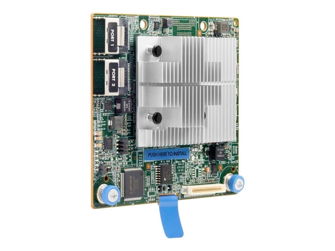 HPE Smart Array E208i-a SR Gen10 (8 Internal Lanes No Cache) 12G SAS  Modular LH Controller
