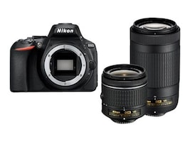 Nikon D5600 DSLR Camera with 18-55mm and 70-300mm Lenses, 1580, 34238447, Cameras - Digital
