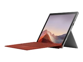 Microsoft Surface Pro 7 Core i7-1065G7 16GB 256GB SSD ax BT 2xWC 12.3 PS MT W10P Platinum, PVT-00001, 37616571, Tablets