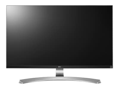 LG 27 MU88-W 4K Ultra HD LED-LCD Monitor, Silver White, 27MU88-W, 32636185, Monitors