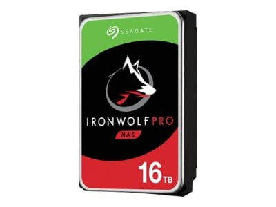 Seagate 16TB IronWolf Pro NAS SATA 6Gb s 3.5 Internal Hard Drive, ST16000NE000, 37060736, Hard Drives - Internal