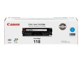 Canon Cyan 118 Toner Cartridge for imageClass MF8350Cdn, 2661B001, 10245212, Toner and Imaging Components
