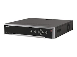 Hikvision 16-Channel 12MP NVR with 16 PoE Ports, 24TB HDD, DS-7716NI-I4/16P24TB, 35215642, Video Capture Hardware