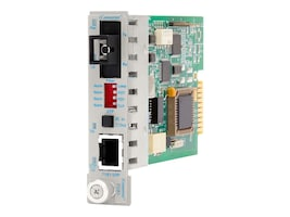 Omnitron iConverter T1 E1 Copper RJ45-RJ48 to SC SM SF TX1310nm RX1550nm 20KM, 8710-1, 10428596, Network Transceivers