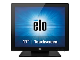ELO Touch Solutions 17 1717L LED-LCD AccuTouch Display, Black, E649473, 19090632, Monitors - Touchscreen