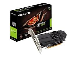 Gigabyte Technology GV-N1050OC-3GL Main Image from Left-angle