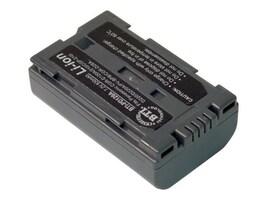 BTI Battery, Lithium-Ion, 7.4V, 1100mAh, for Panasonic CGP, CGR and PV, PD120A, 7927634, Batteries - Camera