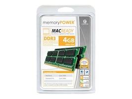 Centon Electronics 4GB PC3-8500 200-pin DDR3 SDRAM SODIMM Kit for Select Mac Models, RA1066SO2048K2, 9734351, Memory