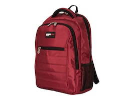 Mobile Edge 16 Smart Backpack, Crimson Red, MEBPSP7, 35402202, Carrying Cases - Notebook