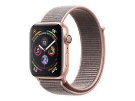 Apple Watch Series 4 GPS, 40mm Gold Aluminum Case, Pink Sand Sport Loop, MU692LL/A, 36142254, Wearable Technology - Apple