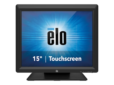 ELO Touch Solutions 15 1517L LED-LCD IntelliTouch Monitor, Black, E344758, 17758758, Monitors - Touchscreen