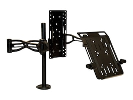 Fellowes Professional Series Dual-Arm Monitor Mount, 8041701, 13347821, Stands & Mounts - Desktop Monitors