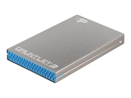 Patriot Memory Gauntlet 3 Aluminum USB 3.0 Blue Tray Enclosure, PCGT325S, 18404126, Hard Drive Enclosures - Single