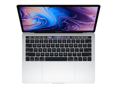 Apple MacBook Pro 13 TouchBar w ID 2.3GHz Core i5 8GB 256GB SSD Iris Plus 655 Silver, MR9U2LL/A, 35875755, Notebooks - MacBook Pro 13