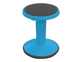 Balt Hierarchy Height Adjustable Grow Short Stool, Blue, 50960-BLUE, 36583113, Furniture - Miscellaneous