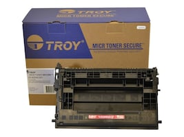 Troy Black MICR Secure High Yield Toner Cartridge for M608 & M609 Series, M608/M609 MICR Secure HY toner, 34856051, Toner and Imaging Components - OEM