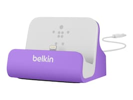 Belkin Charge & Sync Dock for iPhone 5, F8J045BTPUR, 17508222, Cellular/PCS Accessories - iPhone