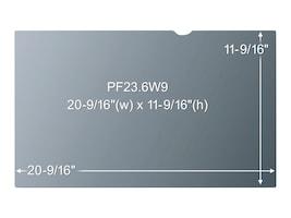 3M Privacy Filter for 23.6 Screen, 16:9 Aspect Ratio, PF23.6W9, 11644514, Glare Filters & Privacy Screens