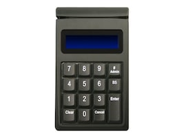 ID Tech SecureKey M130 USB Keypad Original Encryption Format 15-Key, 3-Track MSR, Black, IDKE-534833B, 30955131, Keyboards & Keypads