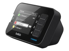 Belkin 4-Button Desktop Controller Unit w  LCD for 2 4-port Secure KVM Switches, F1DN002R, 16952508, KVM Displays & Accessories