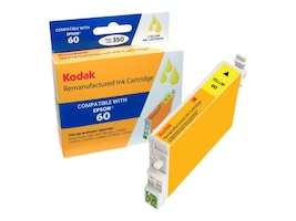 Kodak T060420 Yellow Ink Cartridge for Epson Stylus C, T060420-KD, 31286700, Ink Cartridges & Ink Refill Kits