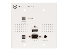 Atlona 2-Input Wallplate Switcher for HDMI & VGA w  HDBaseT Output, AT-HDVS-150-TX-WP, 35889057, Switch Boxes - AV