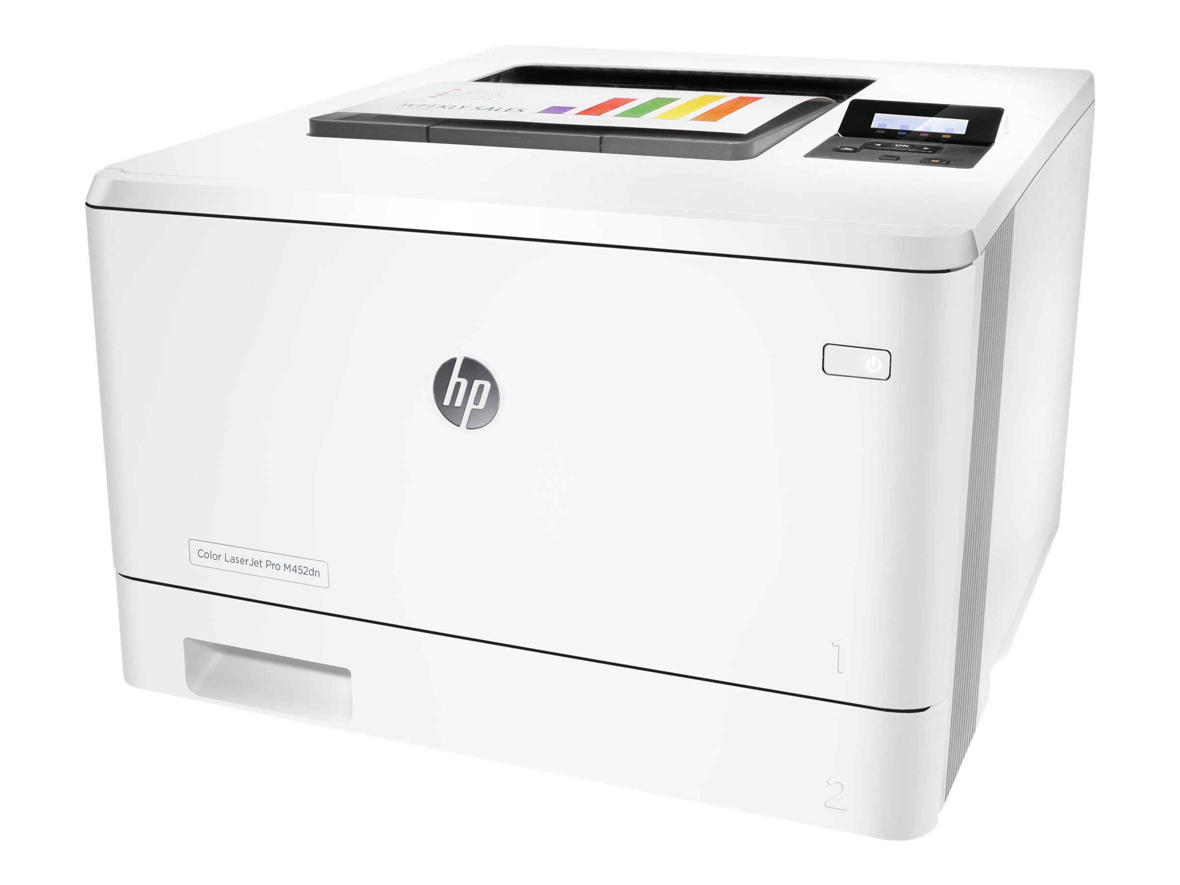 HP Color LaserJet Pro M452dn Printer ($399-$130 instant rebate=$269. expires 5 31), CF389A#BGJ, 30617061, Printers - Laser & LED (color)