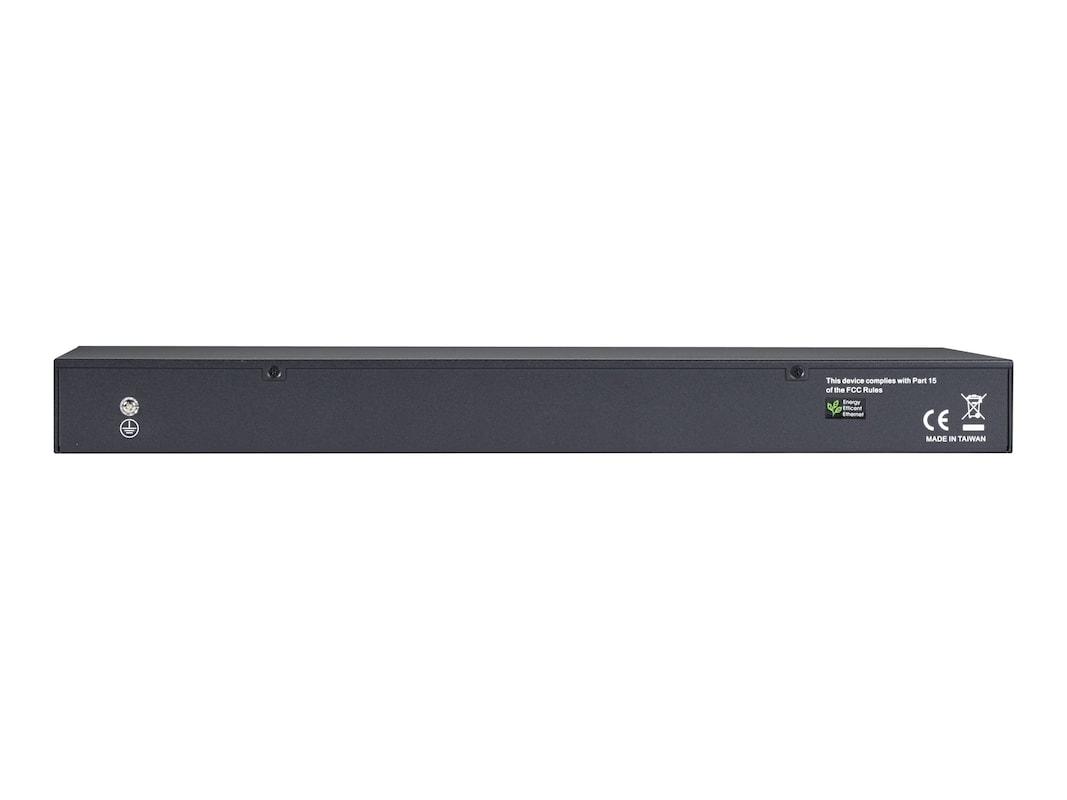 Black Box 24-Port Gb SFP Mngd Fiber Switch