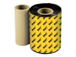Wasp 4.33 x 820'  Black Wasp Premium WPR Wax-Resin Printer Ribbon, 633808431204, 5423897, Printer Ribbons