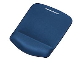 Fellowes Plushtouch FoamFusion Technology Mouse Pad Wrist Rest, Blue, 9287301, 15612739, Ergonomic Products