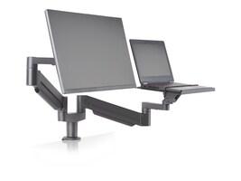 Ergotech 7Flex Dual Monitor Arm with Laptop Tray, 7FLEX-LAPTOP-104, 35214041, Mounting Hardware - Miscellaneous