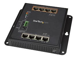 StarTech.com WM Managed Switch 4xGbE 4xGbE PoE+, IES81GPOEW, 34031833, Network Switches