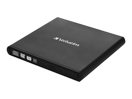 Verbatim External Slimline CD DVD Writer, 98938, 31602389, DVD Drives - External
