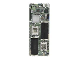 Tyan Motherboard, Intel 5500, Dual Xeon 5500, Proprietary, Max 96GB DDR3, PCIEX16, 3GBE, Video, SATA, S7018GM3NR, 11075294, Motherboards