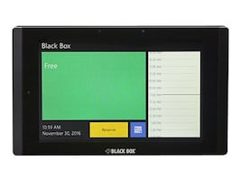 Black Box 7 In-Wall In-Session Room Scheduler, RS-TOUCH7-W, 34309209, Office Supplies