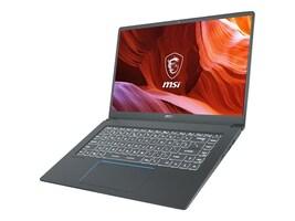 MSI Prestige 15 A10SC-011 Core i7-10710U 1.1GHz 16GB 512GB PCIe ax BT WC GTX1650 15.6 FHD W10P, PRESTIGE15011, 37561717, Notebooks