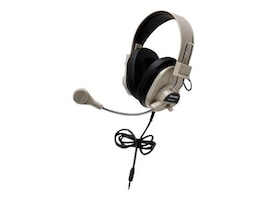 Califone Deluxe Stereo Headset w  To Go Plug, 3066AVT, 31472772, Headphones