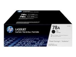 HP 78A (CE278AD) Black Original LaserJet Toner Cartridges (2-pack), CE278D, 13344822, Toner and Imaging Components - OEM