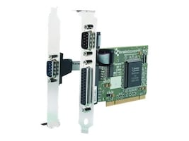 Brainboxes 2-Port RS232 PCI Serial Card with LPT Parallel Printer Port, UC-475, 15251321, Controller Cards & I/O Boards