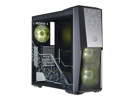 Cooler Master Chassis, MasterBox MB500 TUF Edition 7xExpansion slots 2x3.5 bays 2x2.5 SSD bays, MCB-B500D-KGNN-TUF, 36123299, Cases - Systems/Servers