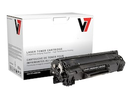 V7 CE285A Black Toner Cartridge for HP LaserJet Pro P1102 (TAA Compliant), THK285A, 13714993, Toner and Imaging Components