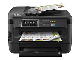 Epson WorkForce WF-7620 All-In-One Printer, C11CC97201, 17456717, MultiFunction - Ink-Jet