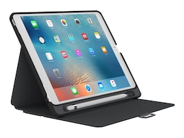 Speck StyleFolio w  Apple Pencil Holder for 1st Gen 12.9 iPad Pro, Black Slate Gray, 76702-B565, 35060214, Carrying Cases - Tablets & eReaders