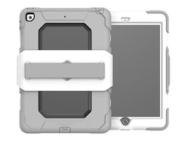 Griffin Survivor Medical Case for 5th Gen iPad (2017), White, GFB-002-WHT, 35187426, Carrying Cases - Tablets & eReaders