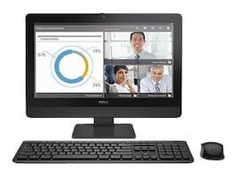 Dell OptiPlex 3030 AIO Core i3-4170 3.7GHz 4GB 500GB DVD+RW GbE agn 19.5 HD+ Touch W10P64, 6GK1R, 32309109, Desktops - All-in-One