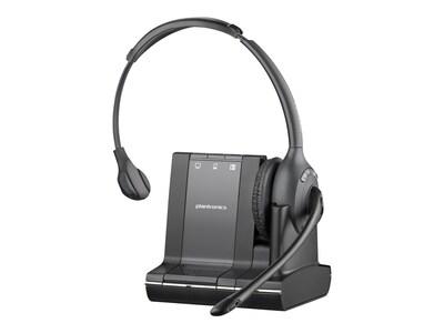 Plantronics Savi W710 Over-the-Head Mono Wireless Headset System, 83545-01, 13014532, Headsets (w/ microphone)