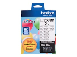 Brother Black Innobella High Yield (XL Series) Ink Cartridges for MFC-J4320DW, MFC-J4420DW (2-pack), LC2032PKS, 31283710, Ink Cartridges & Ink Refill Kits - OEM