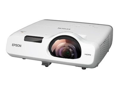 Epson PowerLite 520 XGA 3LCD Projector, 2700 Lumens, White, V11H674020, 18101213, Projectors