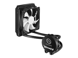Thermaltake Water 3.0 Performer 120mm Liquid CPU Cooler, CLW0222-B, 21324477, Cooling Systems/Fans